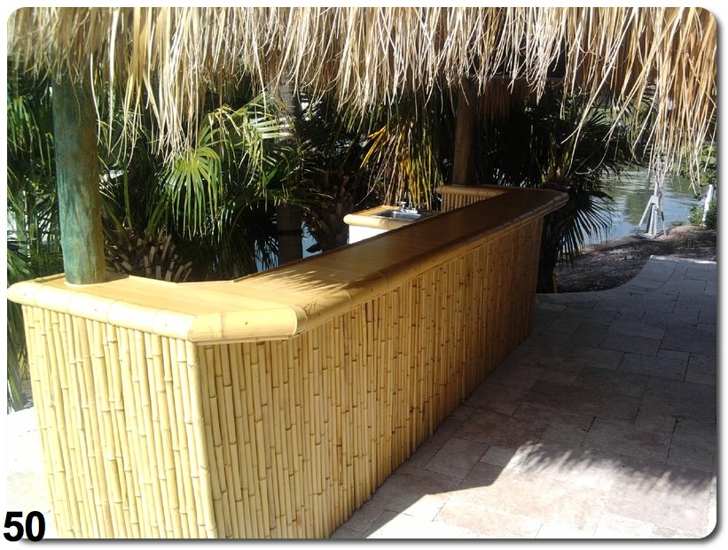 we handle corporate commercial and residential accounts and want to use our training and familiarity in the field to build your perfect tiki bar