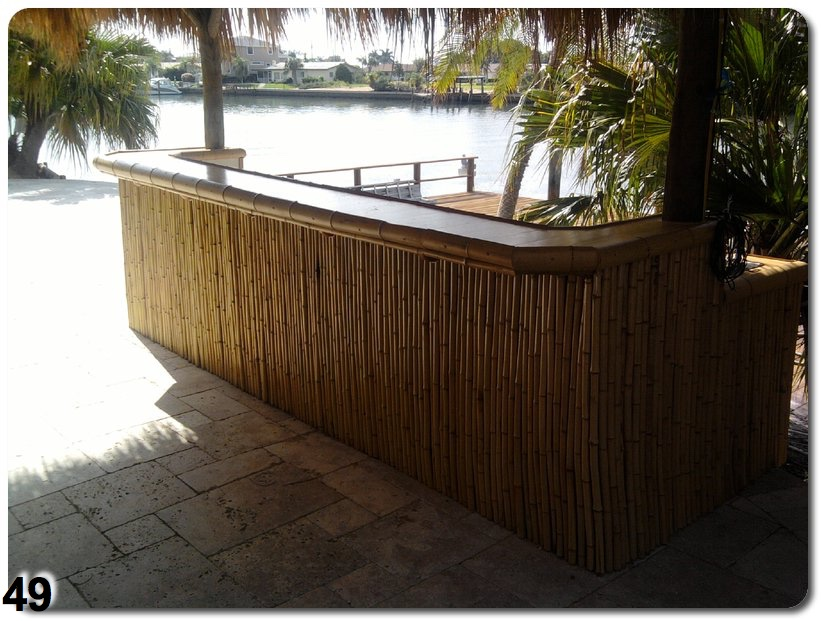 how to build your own tiki bar